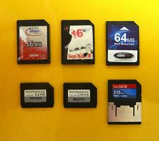 RS-MMC MMC mobile Multimedia Card 16MB 32MB 64MB 128MB 512MB SanDisk Infineon