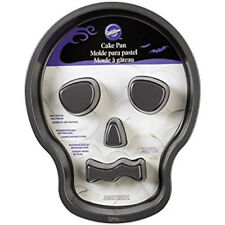 Skull with Flutes Halloween Non-Stick Cake Pan from Wilton #7792 - NEW