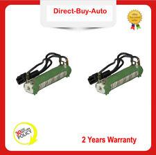 2Pcs VW Sharan Transporter T4 Alhambra Engine Cooling Fan Resistor 701959263D