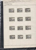 gold coast stamps page ref 18029