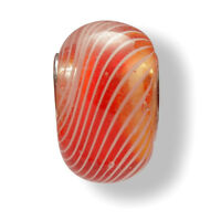 Mia Beads Glas-Bead echt Silber 925 Sterling rot für Charm Bettelarmband