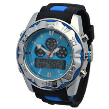 RIPCORD BY TRIAS Multifunctional Watch Model Series and005-blau Dual Time 24h