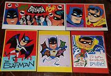 BATMAN 6-PIECE PRINT SET by PATRICK OWSLEY! 1966 TV! DICK SPRANG! THE BAT-MAN!
