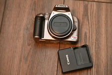 Canon EOS Rebel XSi / 450D 12.2MP DSLR Camera - silver (Body Only) 5,000 SHUTTER