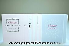 Lot of 7 New Authentic Cartier Baiser Vole & Cartier Carat Edp Samples 1.5ml ea