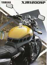 Yamaha XJR 1200 SP Kenny ROBERTS prospectus brochure 4 pages 1997