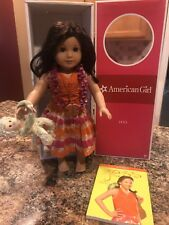 American Girl Doll of the Year Jess - retired 2006 - Book, Box & Monkey
