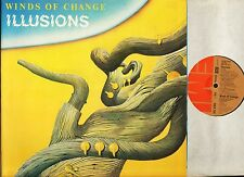 WINDS OF CHANGE illusions EMA 791 uk emi 1979 produced by jeff wayne LP EX/EX