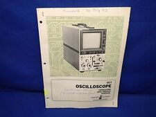 HP 182T OSCILLOSCOPE OPERATING & SERVICE MANUAL OLD STYLE COVER
