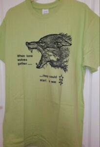 Psychic TV TShirt When Lone Wolves Gather Music Industrial Throbbing Gristle 177