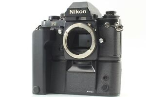[OPTICAL MINT] Nikon F3 Eye Level SLR Film Camera w/ Motor Drive MD-4 From JAPAN