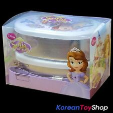 Disney Sofia the First Stainless Steel Lunch Box Round Bento 2 Tiers with Band
