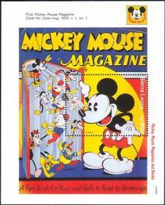Sierra Leone 1992 Walt Disney/Mickey/Cartoons/Animation/Comics 1v m/s (ad1037)