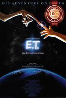 NEW E.T THE EXTRA TERRESTRIAL ET ORIGINAL SPIELBERG MOVIE PRINT PREMIUM POSTER