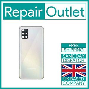 For Samsung Galaxy A51 A515 Replacement Rear Battery Cover (Prism Crush White)
