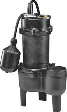 NEW WAYNE RPP50 CAST IRON 1/2HP SEWAGE WATER PUMP & SWITCH SALE 4089678