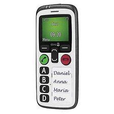Doro 6515 Secure 580 3G SIM-Free Mobile Phone-White