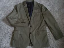New J crew Ludlow suit jacket w. double vent Italian chino 38R A0498 olive $298