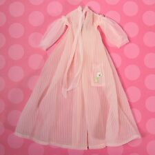 Vintage Barbie Clothes 965 Nighty Negligee Pink Sheer Robe 1960s EXCELLENT