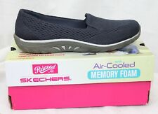Skechers Shoes Reggae Fest Willows Relaxed Fit Navy Blue Memory Foam 49244  7