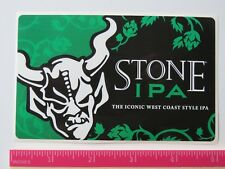 Bier Aufkleber ~ Stein Gär Co Ipa = Indien Pale Ale ~ Escondido, Kalifornien