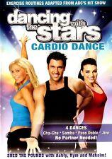 Dancing With the Stars Cardio Dance Workout DVD Fitness Exercise Cha-Cha Samba