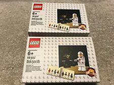 2 x LEGO 5002812 LIMITED EDITION CLASSIC SPACEMAN MINIFIGURES - NEW/SEALED