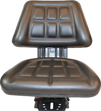 Black Tractor Suspension Seat Fits Ford New Holland 4000 4100 4110 4600 4610
