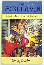 """THE SECRET SEVEN """"LOOK OUT, SECRET SEVEN"""", Enid Blyton, VG"""