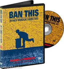 POWELL Peralta Skateboard BAN THIS DVD Bones Brigade SEALED NEW