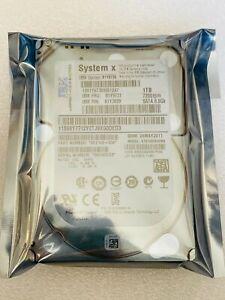 81Y9730 IBM 1TB 7.2K 6GBPS SATA 2.5 inch SFF HS 81Y9731 81Y3829 HDD ST91000640NS
