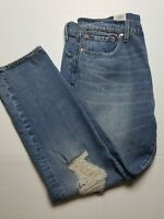 Levi's X Justin Timberlake 502 Taper Fit Distressed Jeans Fresh Leaves 38x32 NEW