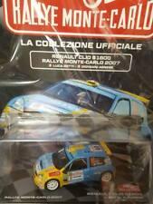 Modellino Auto Macchina Rally Monte-Carlo n 9 Renault Clio S1600 2007 1:43