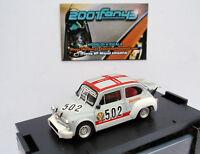 FIAT ABARTH 1000 TC #502 SMITTARELLO TRENTO BONDONE 1974 1/43 BRUMM R499