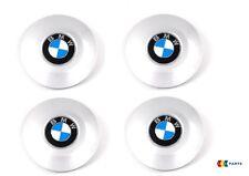 NEW GENUINE BMW 7 SERIES E65 ALLOY WHEEL HUB CENTER CAPS SET OF FOUR STYLE 175