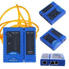 RJ45 RJ11 RJ12 CAT5 CAT6 Network Cable Tester UTP USB Lan Wire Ethernet Test Hot