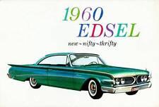 Old Print. Green 1960 Edsel Ranger Auto Ad