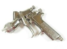 Devilbiss Gti Millenium Hvlp Gravity Feed Spray Gun Silver Body 2000 Air Cap