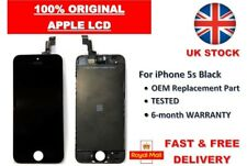 iPhone 5s Black LCD Replacement Assembly Touch Screen 100% Apple OEM Digitizer