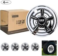 10L0L Golf Cart Wheel Covers Hub Caps for EZGO, Club Car, Yamaha 8 inch Set of 4