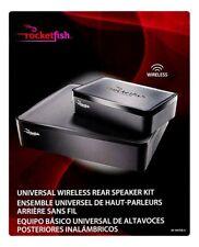 Rocketfish- Universal Wireless Rear Speaker Kit - Black