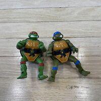 Vtg 1992 Teenage Mutant Ninja Turtles TMNT Mutations MUTATIN LEONARDO & RAPHAEL