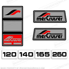Mercruiser 1965 - 1983 Pre-Alpha Stern Drive Outboard Reproduction Decals