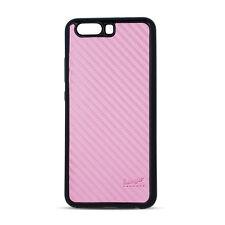 ^ bolso back case funda TPU flip carbon beeyo Apple iPhone 5 Pink