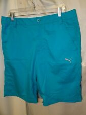 Mens Puma Golf Performance Dry Cell Bright Blue Shorts Size 34 NEW Style 567548