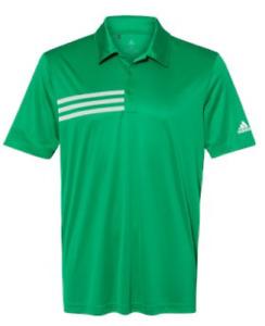 ADIDAS Mens 3 Stripe Chest DRI FIT GOLF Polo Sport Shirts Size S-4XL NEW A324