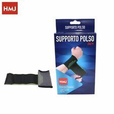 Supporto Per Polso Fascia Elastica Polsiera Tendinite Sport hmj