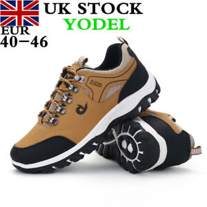 Mens Outdoor Hiking Shoes Camping Trainers Boots Waterproof Sneakers UK Size Lot