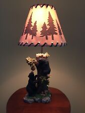 Rustic Cabin Lamps In Collectible Table Lamps Ebay