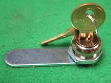 "12 LOCKS 3/4"" CHROME PLATED KEY KEYED CYLINDER DRAWER FILE CABINET DOOR CAM LOCK"